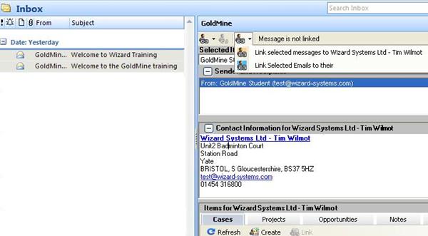 Outlook_link_goldmine