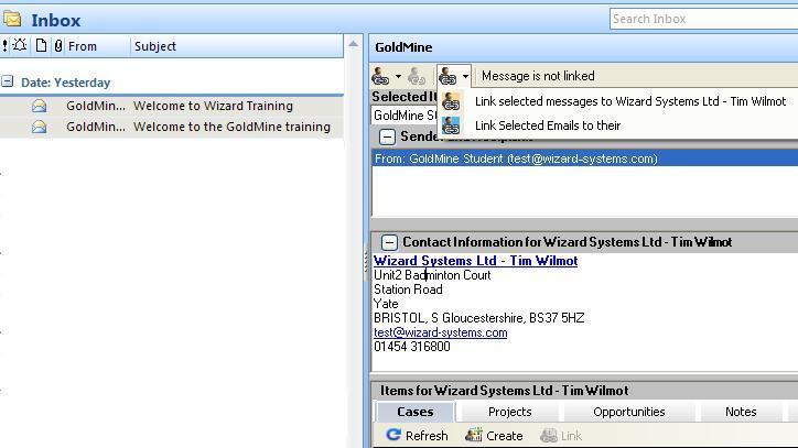 Link_outlook_email_goldmine