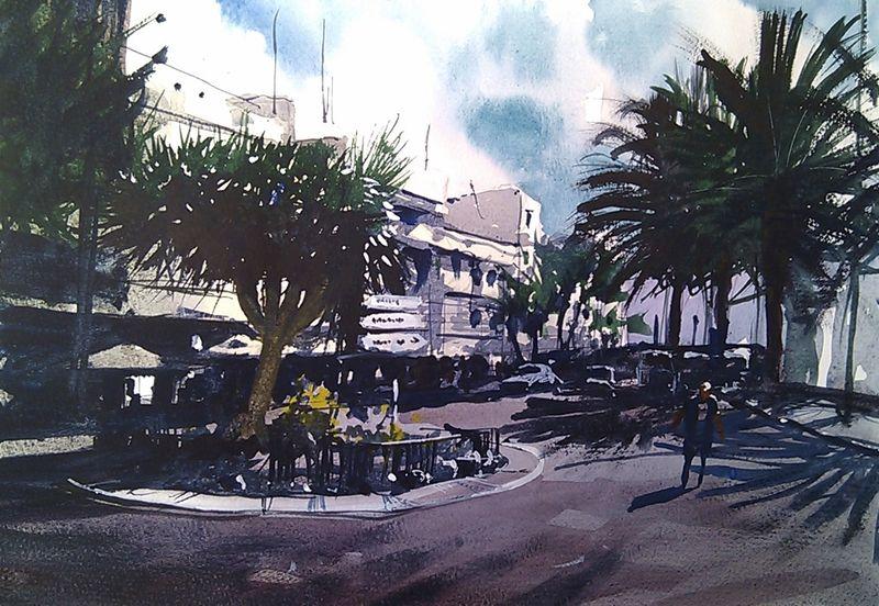 Roundabout_arrecife_lanzarote