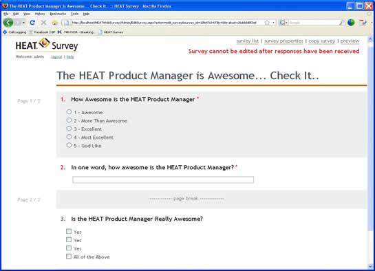 HEAT_Survey