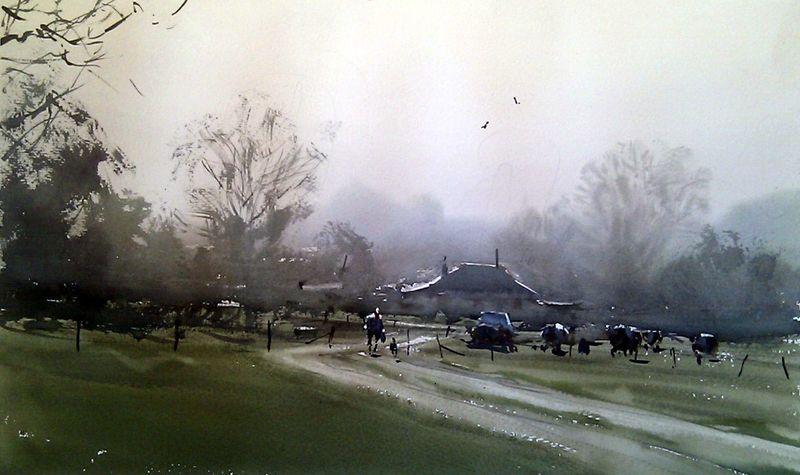 Joseph_Zbukvic_painting_course_1