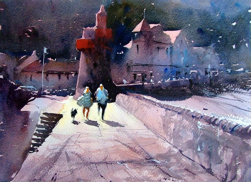 Lynmouth_sea_front