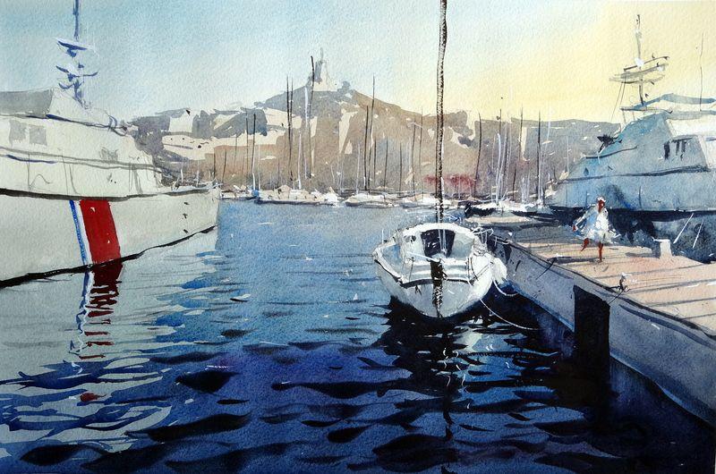 Marseille_old_port