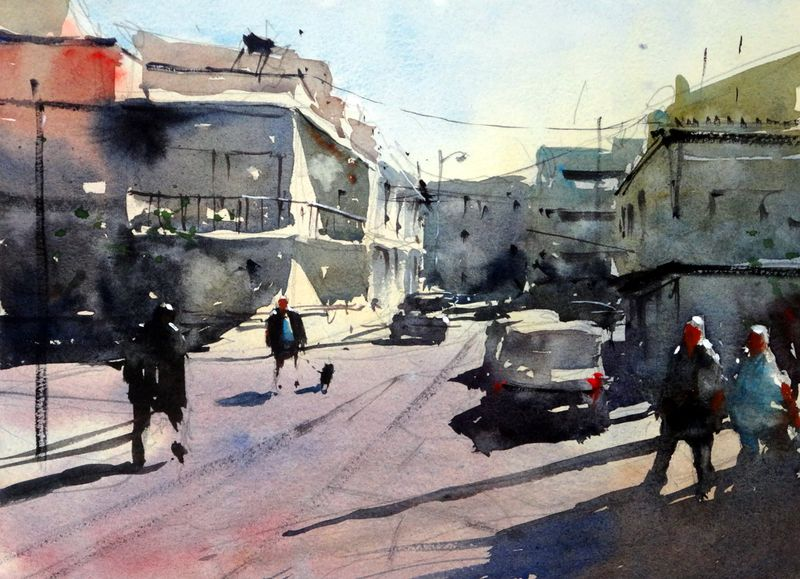 Quarteira_back_street_portugal