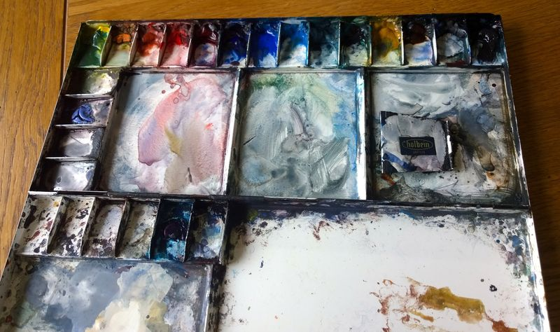 Tim wilmot watercolor palette