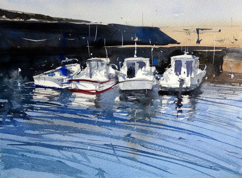 Four_boats_harbour_pecheurs_biarritz