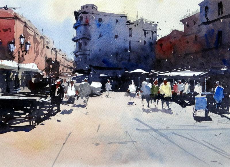 Midday_place_de_la_font_tarragona