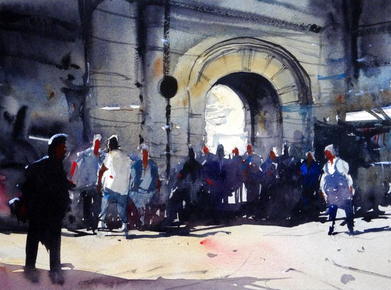 Grand bazaar entrance istanbul
