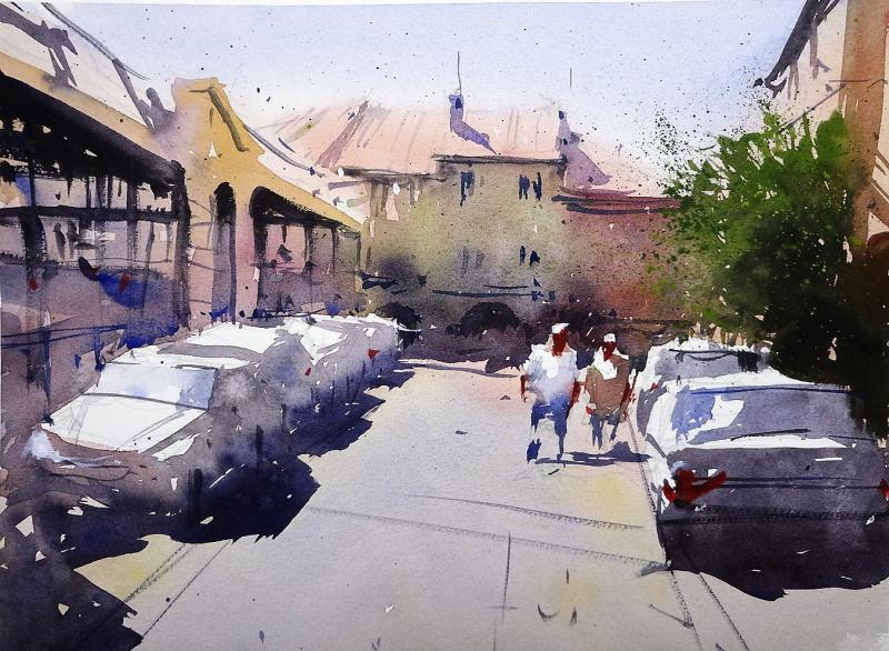 Place Robert Darniche Monsegur france