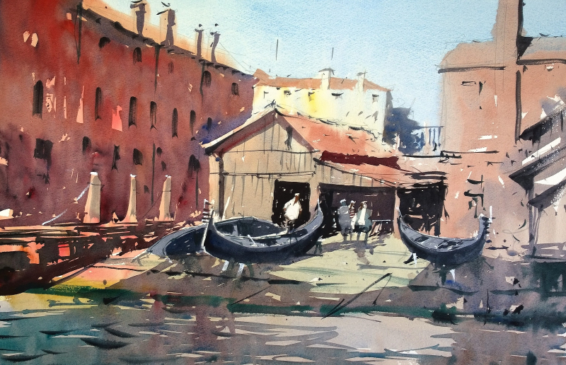 Gondola workshop venice