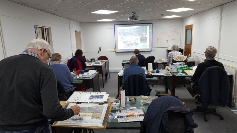 Tim wilmot watercolour workshop uk