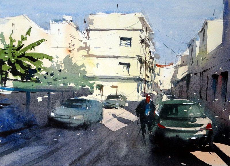 Chania suburbs, Crete