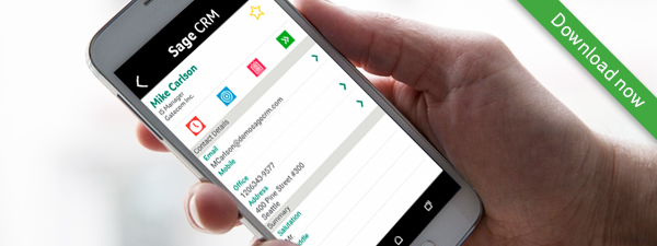 Sage crm android app