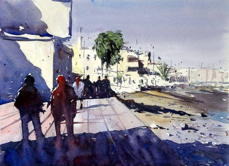 Promenade Walk, Corralejo, Fuerteventura