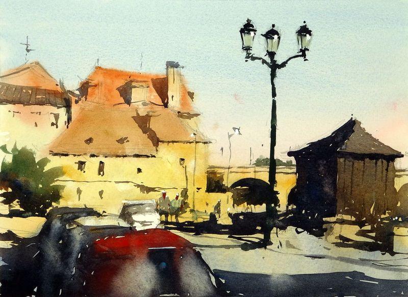 Quai Salvette, Bergerac, France