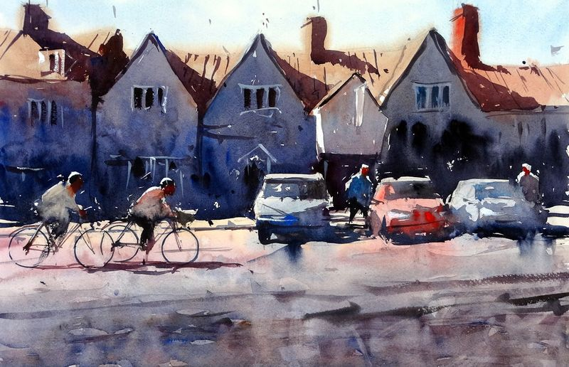 Cyclists_chipping_sodbury_high_street