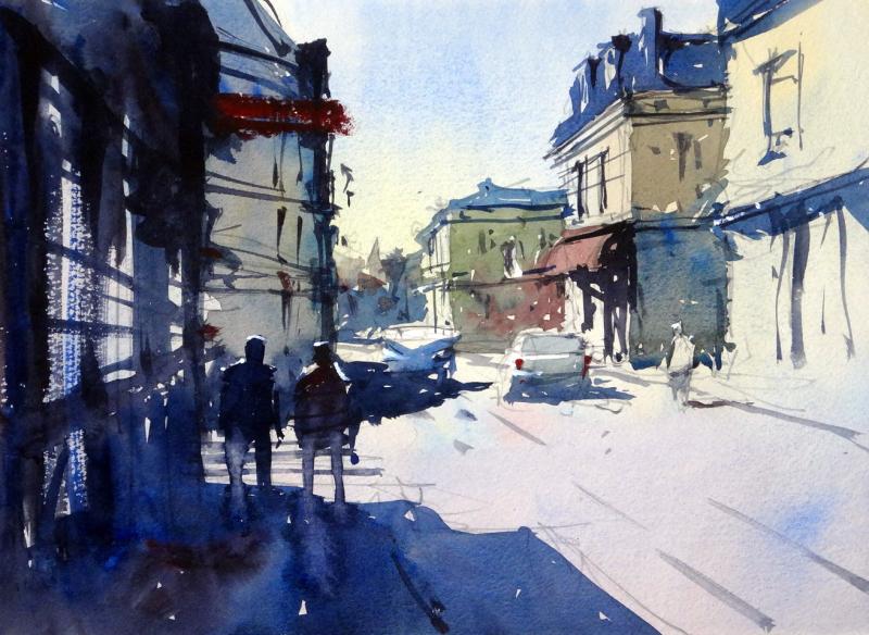 Rue de la liberation mussidan france