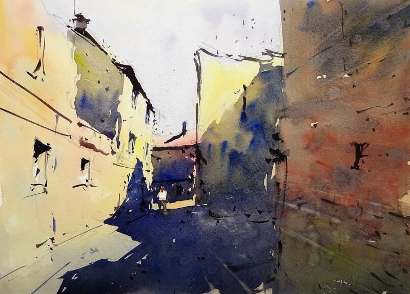 Shady street bergerac