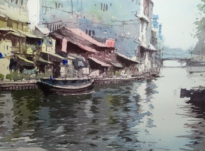 Bangkok klong river