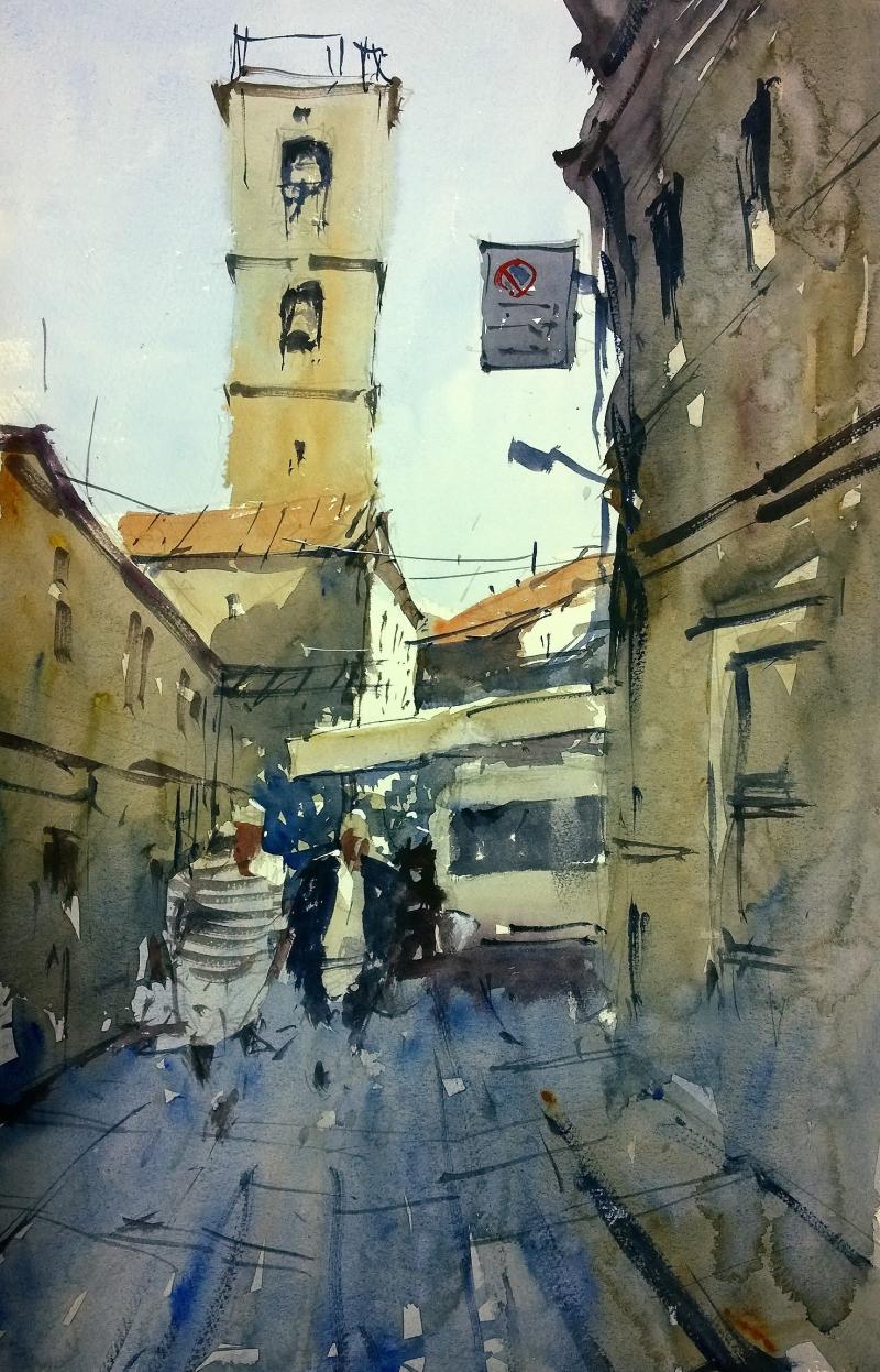 Fivizzano market day