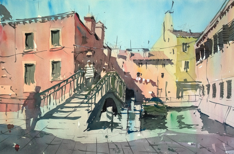 Bridge Fondamenta dei Penini Venice