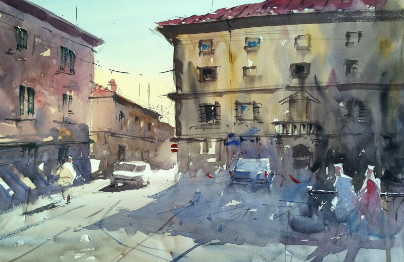Piazza Medicea Fivizzano