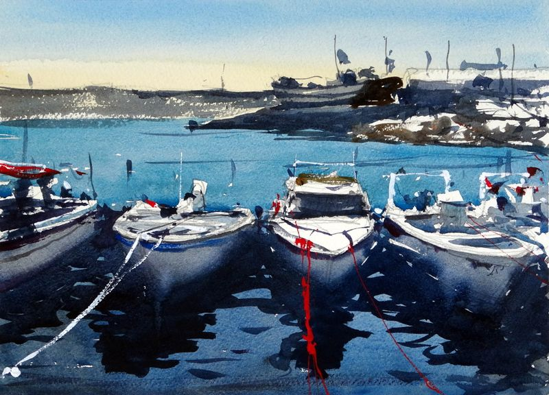 Quarteira_harbour_algarve_portugal