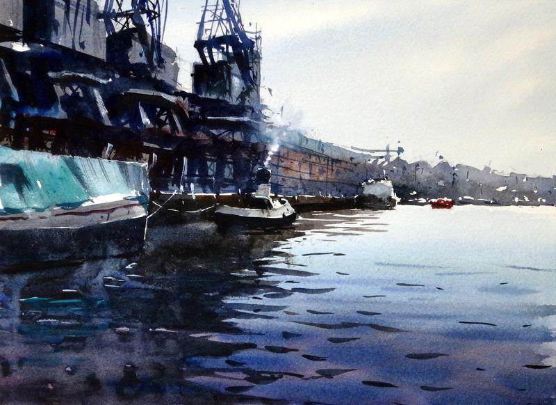 Bristol_waterfront_princes_wharf_cranes