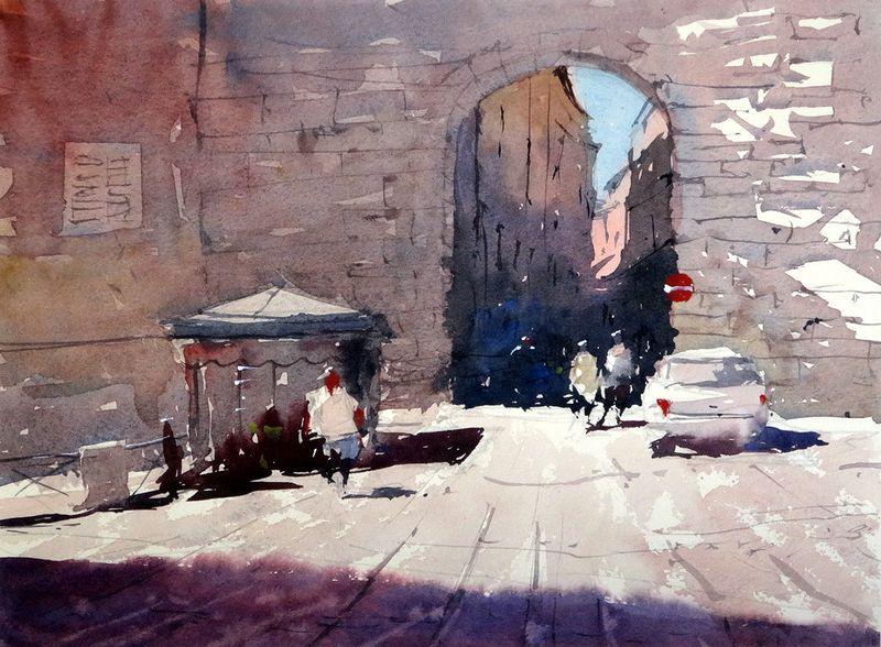 City_gate_ancona_italy