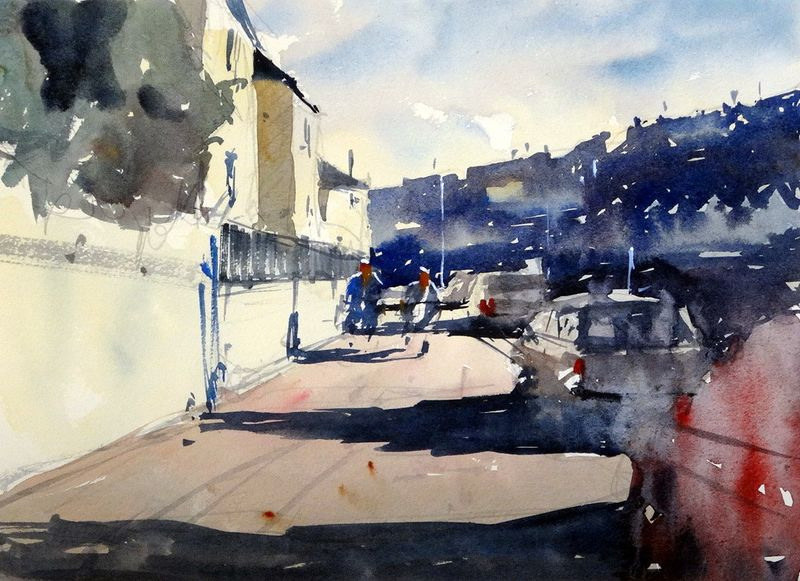 Porthleven Harbour. Cornwall, 3