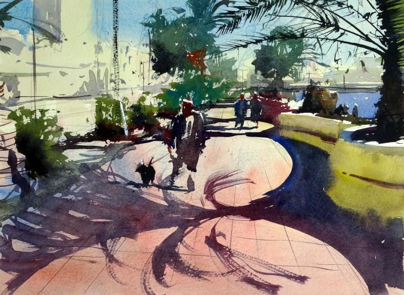 Promenade walk, Puerto del Rosario, Fuerteventura