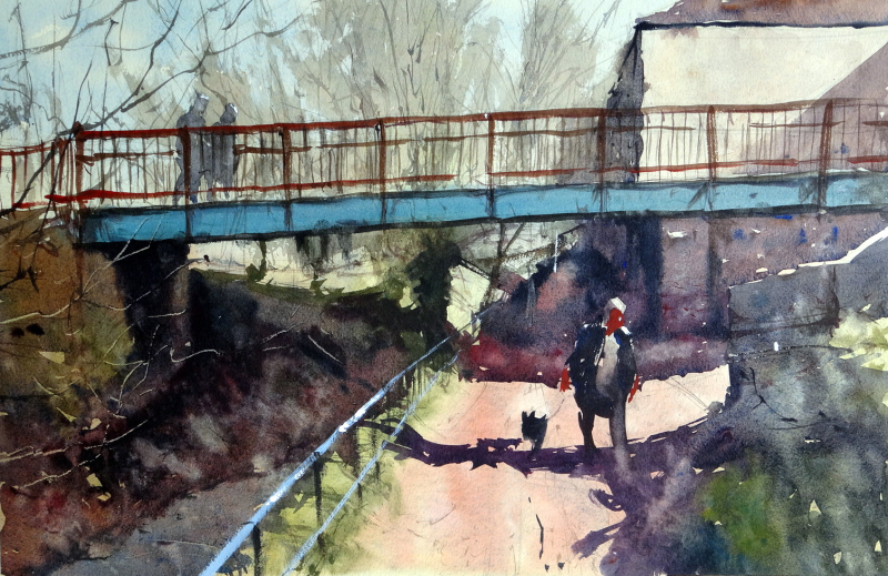 Footbridge over the River Frome, Chipping Sodbury, 2