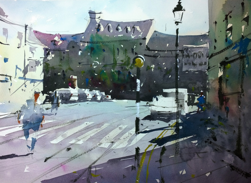 Tetbury Plein Air June 2017 #1
