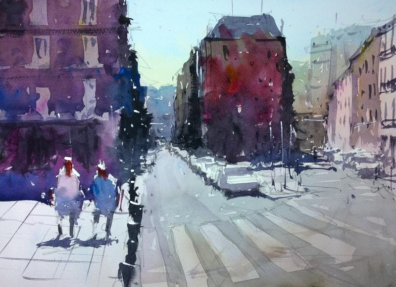 Calle Amaniel Madrid