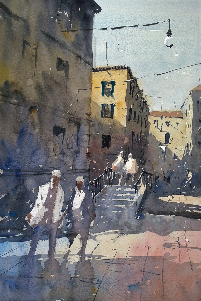Venice jewish quarter