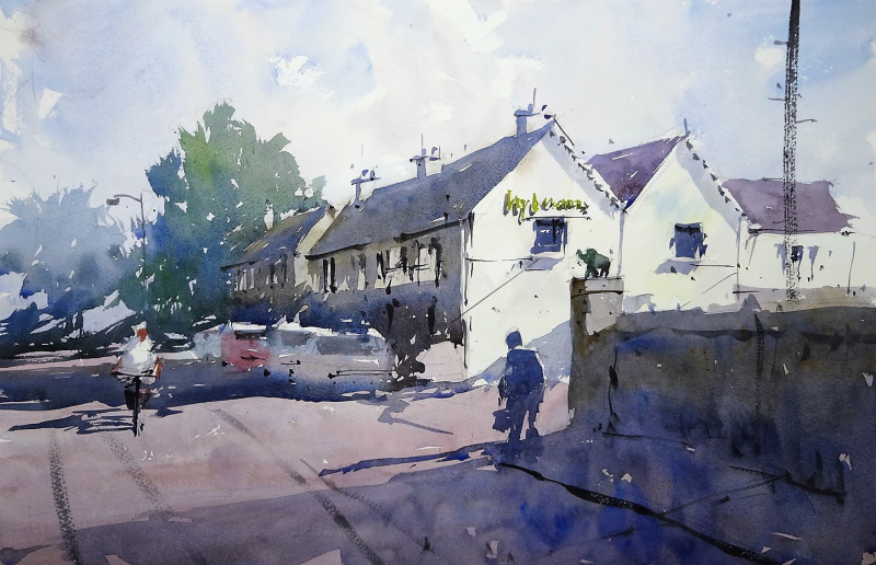 Frome valley art group demo #1