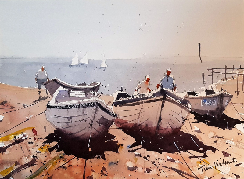 Bristol savages artists outing sidmouth 2018 #1