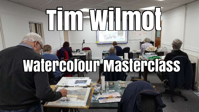 One Day Watercolour Masterclass with me - November 2018