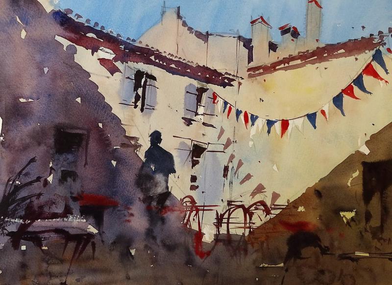Courtyard Quilles et Papilles Villefranche-de-Lonchat