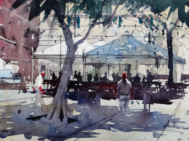 Shady corner piazza yenne cagliari