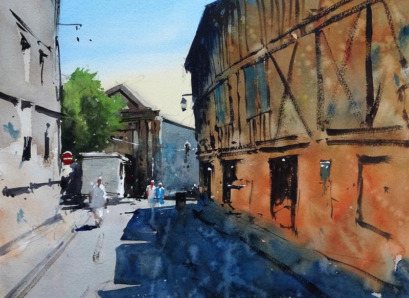 Rue des Recollets Bergerac 2