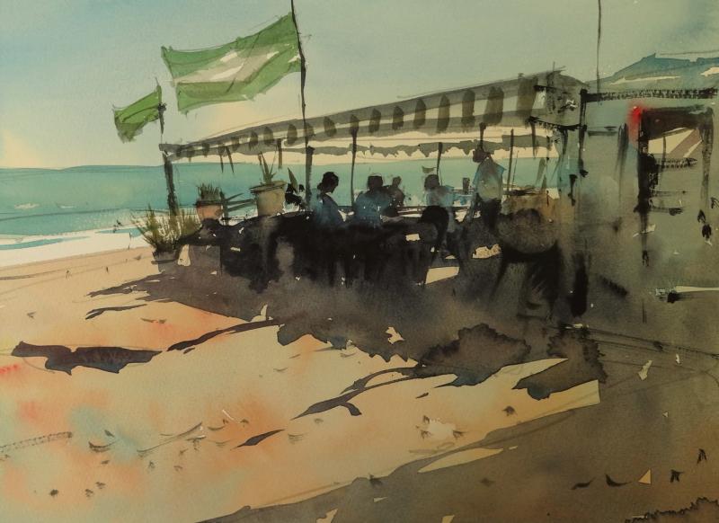 Beach bar la cala