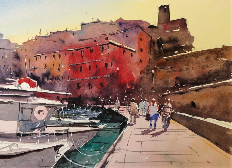 Harbourside vernazza