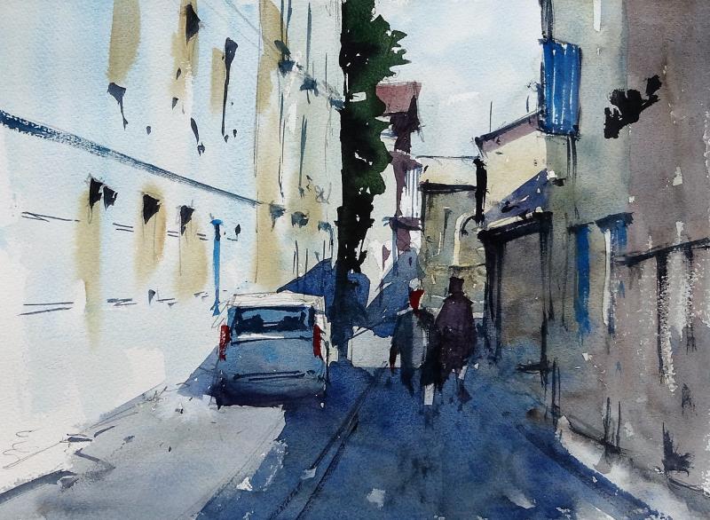 Rue Notre Dame du Chateau - Bergerac France