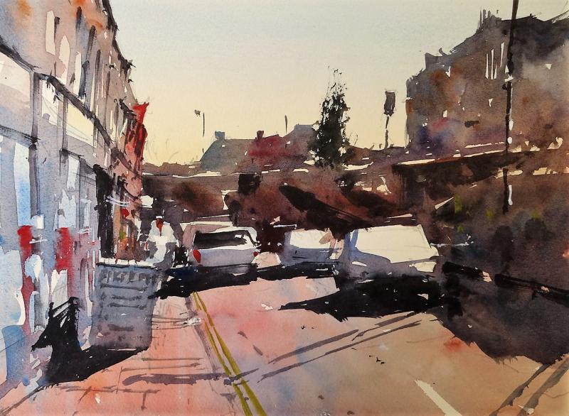 Colston street bristol towards park row