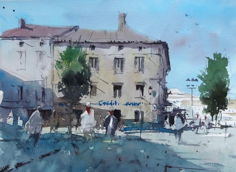 The Bank Castillon-la-Bataille