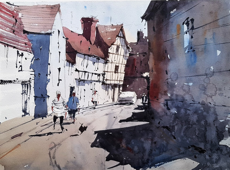 Bristol savages artist outing plein air 2019 #3