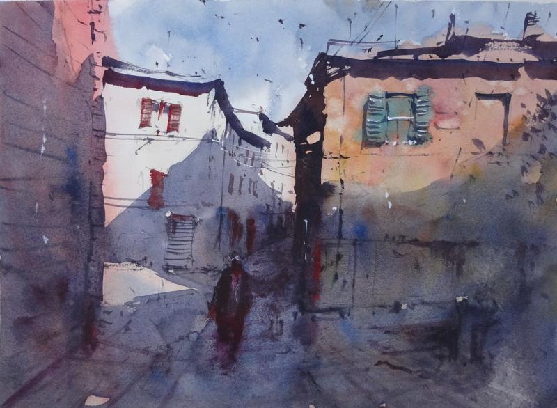 Backstreets of fabriano