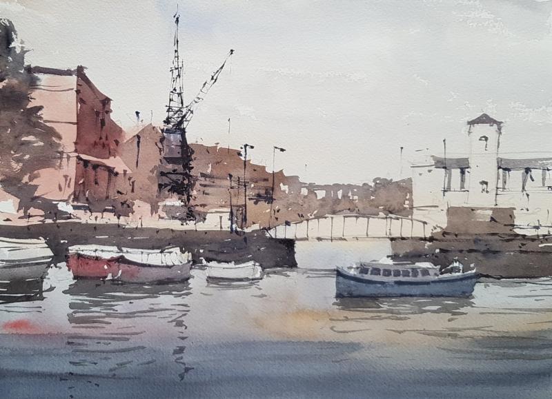 Exiles plein air may 2019 bristol waterfront