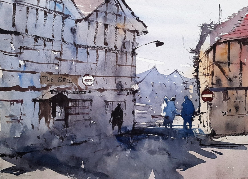 Bristol savages artist outing plein air 2019 #5